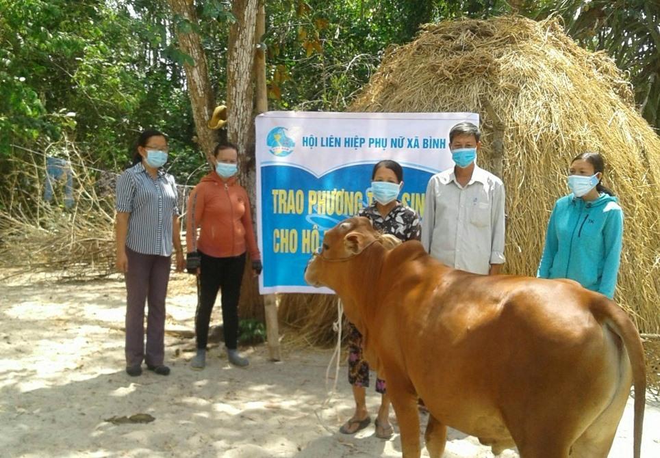 Hỗ trợ sinh kế cho các hộ nghèo, cận nghèo năm 2021 trên địa bàn huyện Thăng Bình