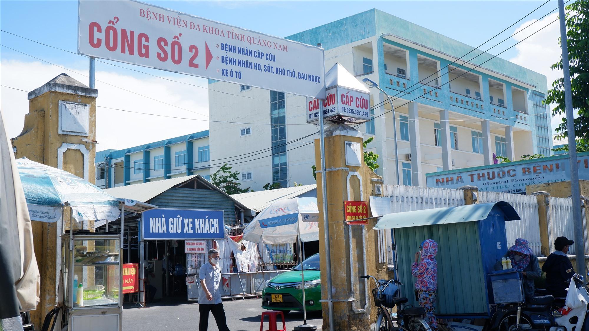 Tối ngày 13.9, tại Khoa Cấp cứu của BV Đa khoa tỉnh xảy ra vụ việc bệnh nhân hành hung một nhân viên y tế. Ảnh: X.H
