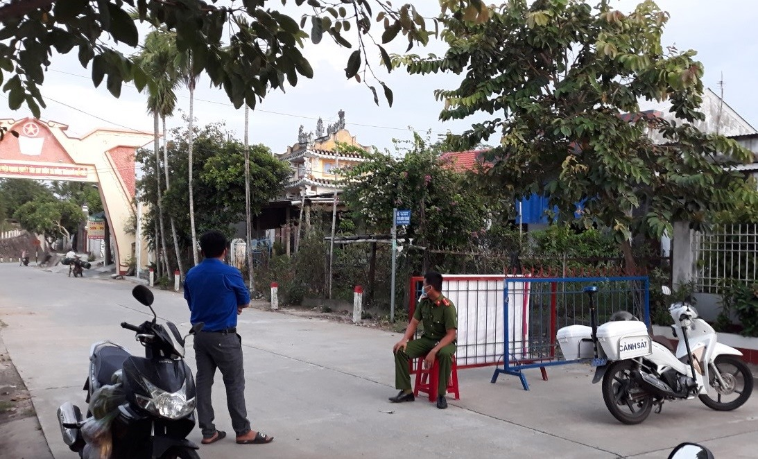 Điện Bàn lập 17 chốt kiểm soát phòng chống dịch lây lan