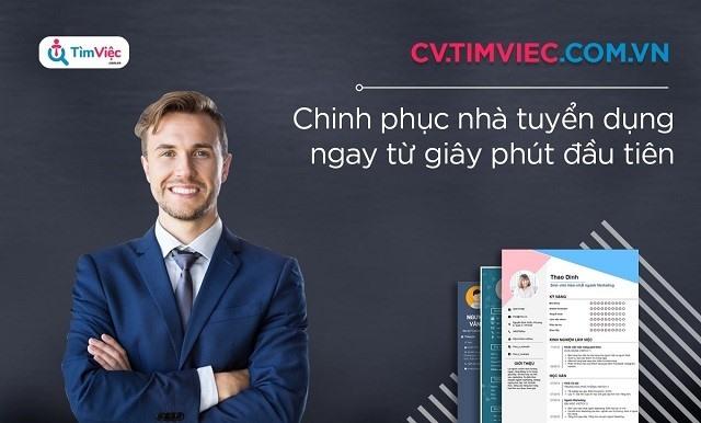 Cv.timviec.com.vn mang đến cho ứng viên nhiều mẫu CV ấn tượng.