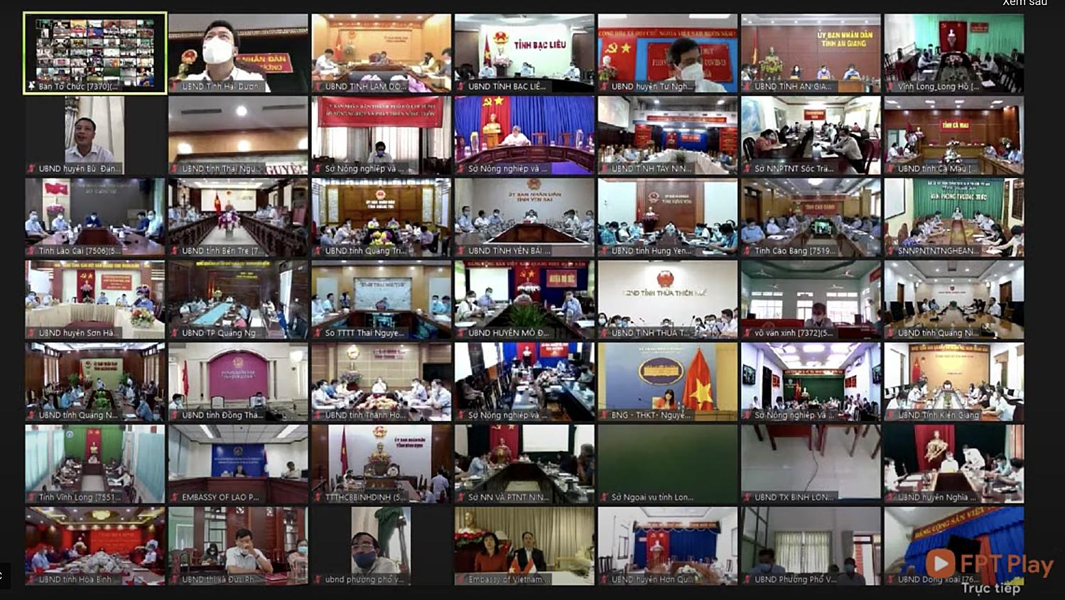 Các đại biểu tham gia Diễn đàn Chuyển đổi số Nông nghiệp Việt Nam. Ảnh: VnExpress.net