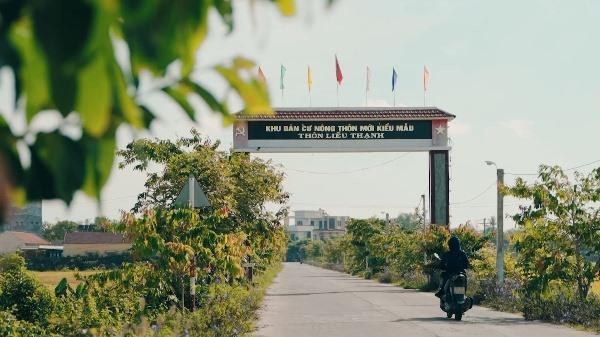 Khang trang, sạch đẹp đường vào thôn Liễu Thạnh (xã Bình Nguyên, Thăng Bình). Ảnh: G.B