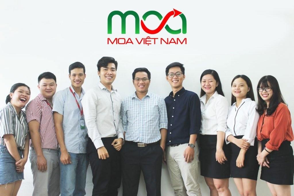 MOA Việt Nam là công ty được thành lập bởi CEO Cao Hoài Trung cùng đội ngũ chuyên gia nhiều năm kinh nghiệm trong lĩnh vực Digital Marketing và Bán Hàng Online.