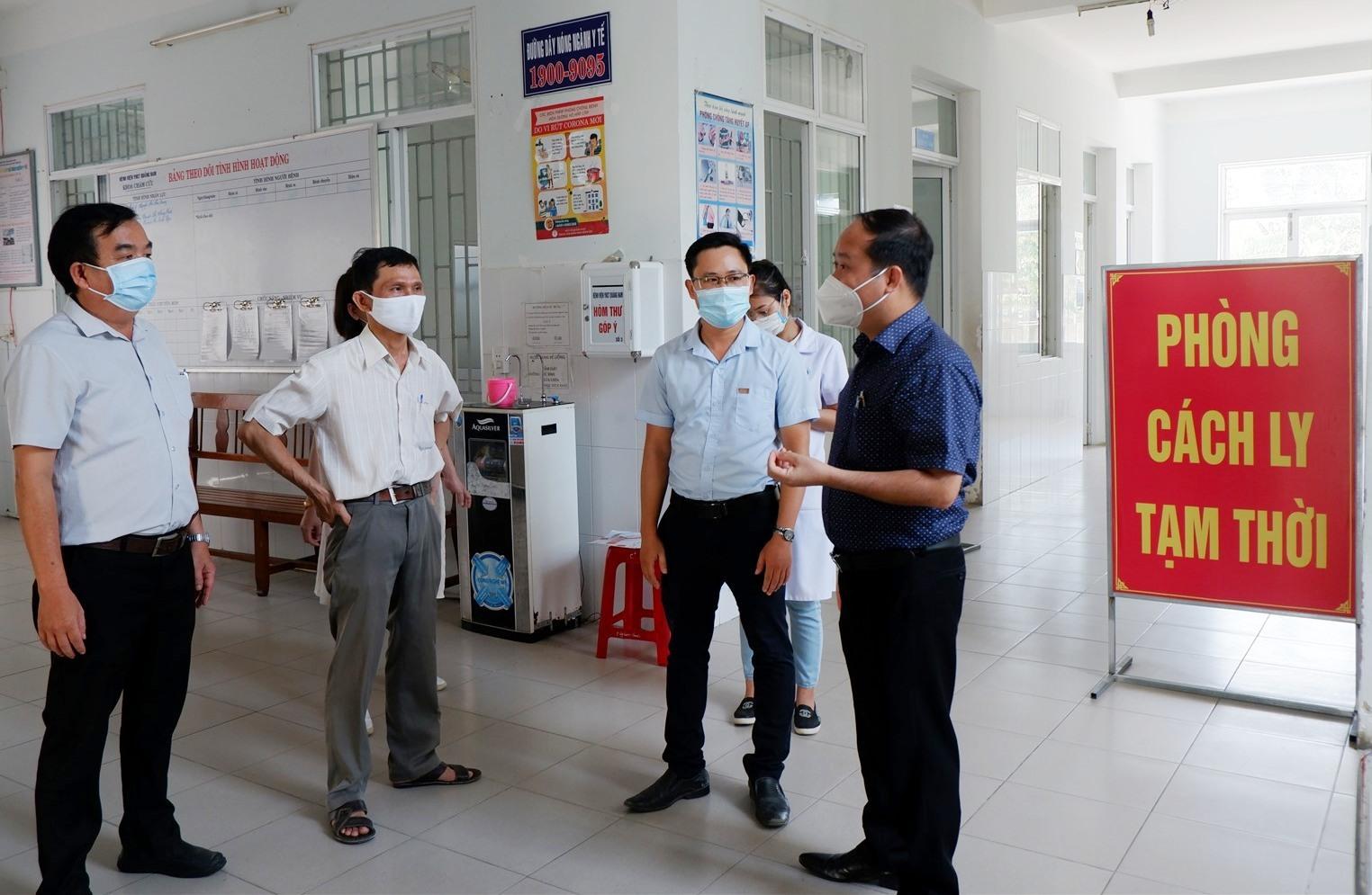 Bệnh viện Y học Cổ truyền tỉnh tạm dừng tiếp nhận bệnh nhân Covid-19. Ảnh: X.H