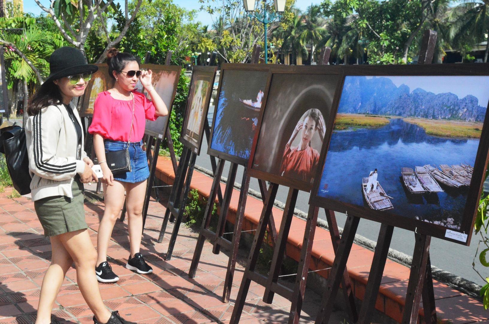 An art exhibition in Hoi An