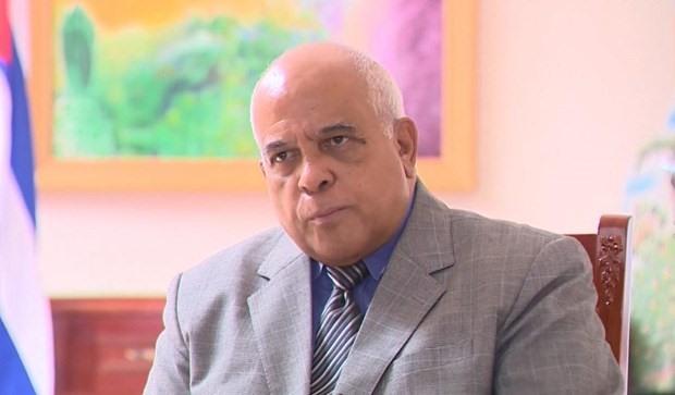Cuban Ambassador to Vietnam Orlando Nicolás Hernández Guillén. (Photo: VNA)