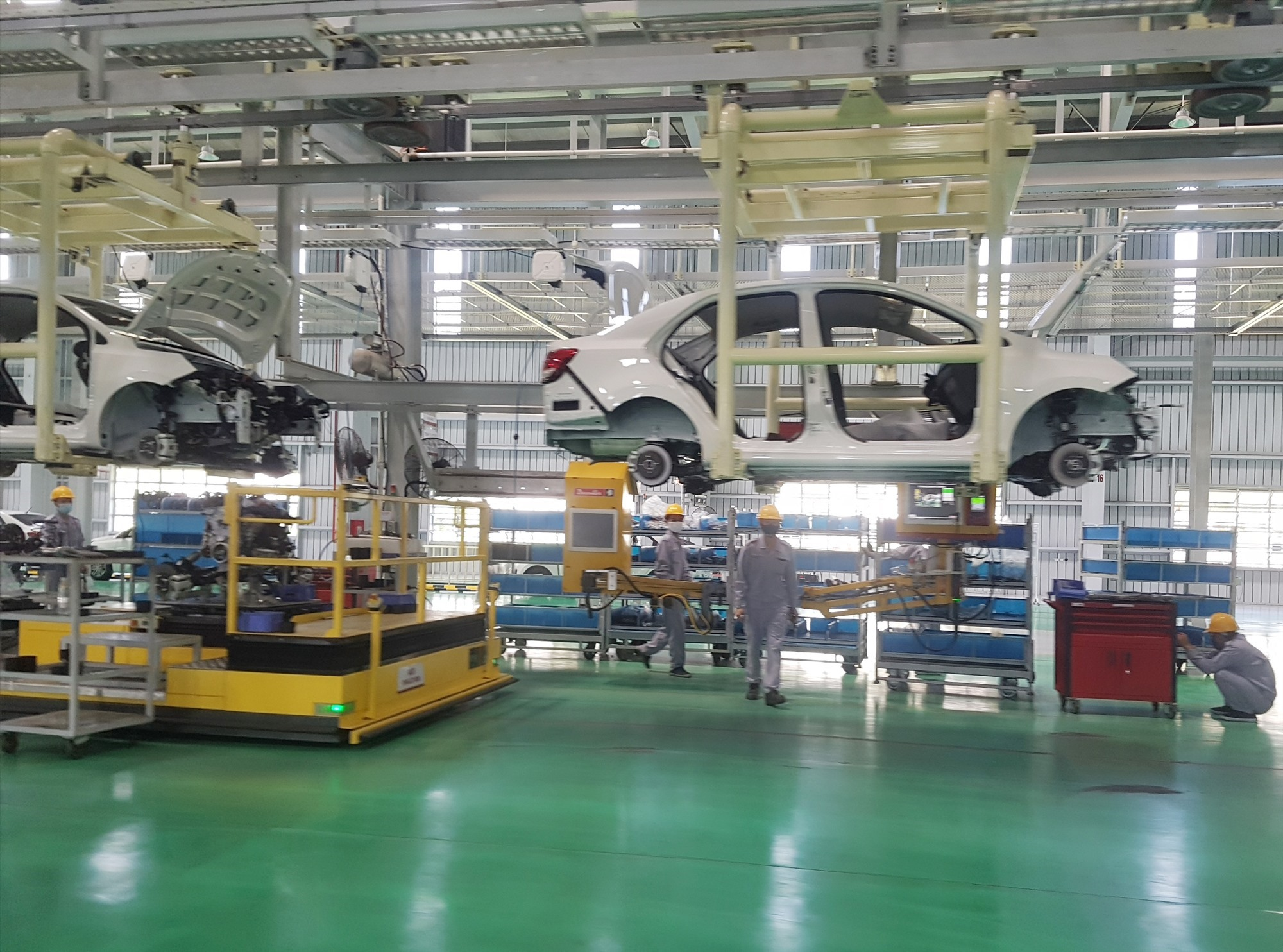 Automotive manufacturing factory in Chu Lai Open Economic Zone, Quang Nam province