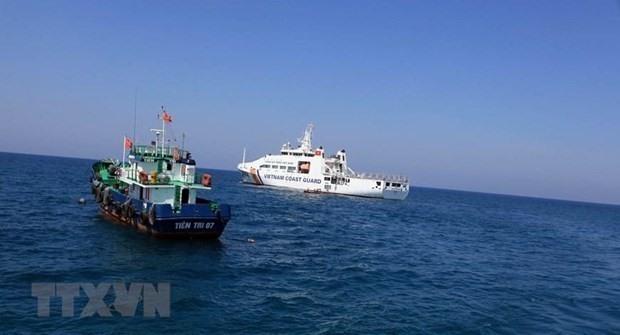 Vietnamese relevant agencies always keep a close watch on developments in the East Sea (Illustrative photo: Xinhua/VNA)
