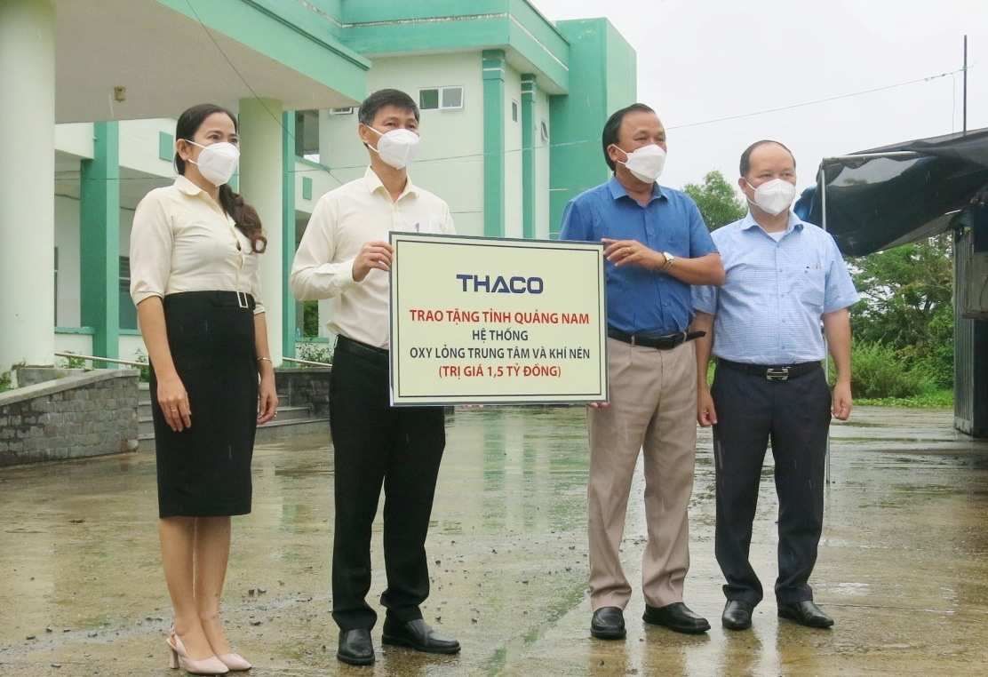 The symbol of medical gas system is given to Quang Nam