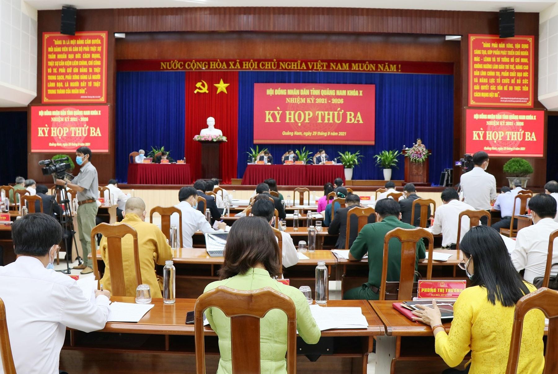 Đề án sẽ được các đại biểu HĐND tỉnh cho ý kiến tại Kỳ họp lần thứ Ba. Ảnh: D.L
