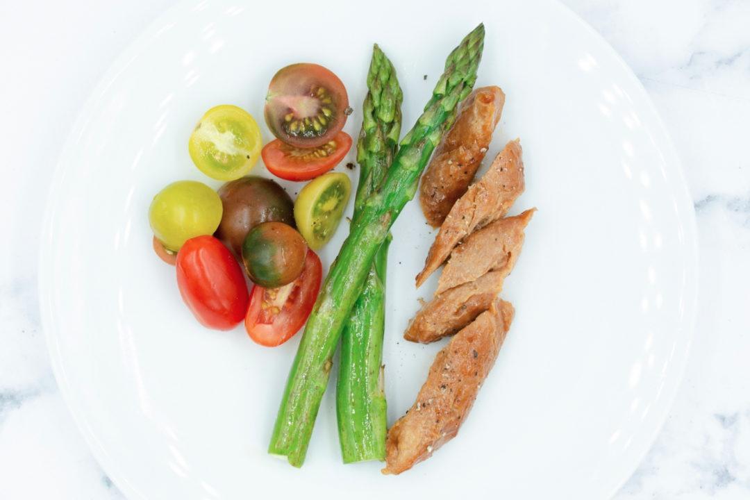 Hình ảnh loại thịt làm từ không khí được Air Protein công bố. Ảnh: Air Protein