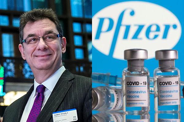 CEO của hãng dược Pfizer (Mỹ) Albert Bourla. Ảnh: ITN