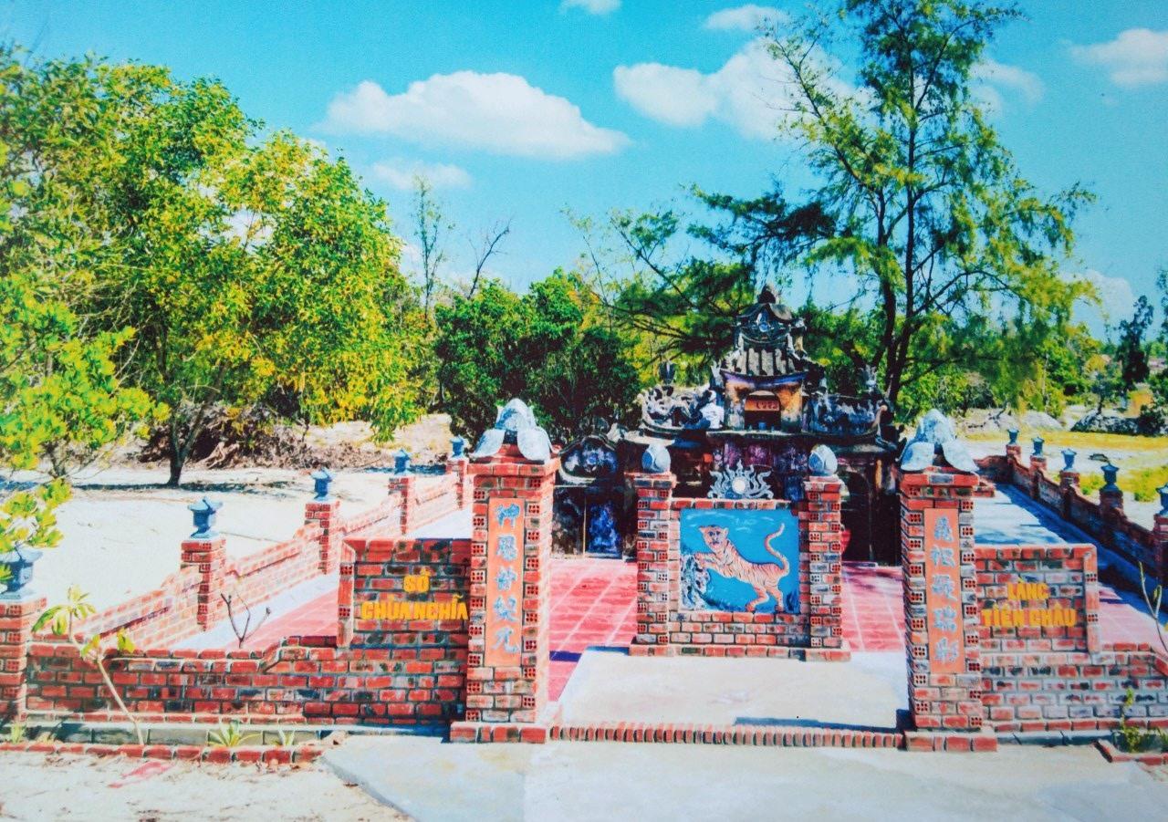 """""""Nghĩa trủng tự"""" làng Tiên Châu, xã Bình Sa (Thăng Bình). Ảnh: T.P"""