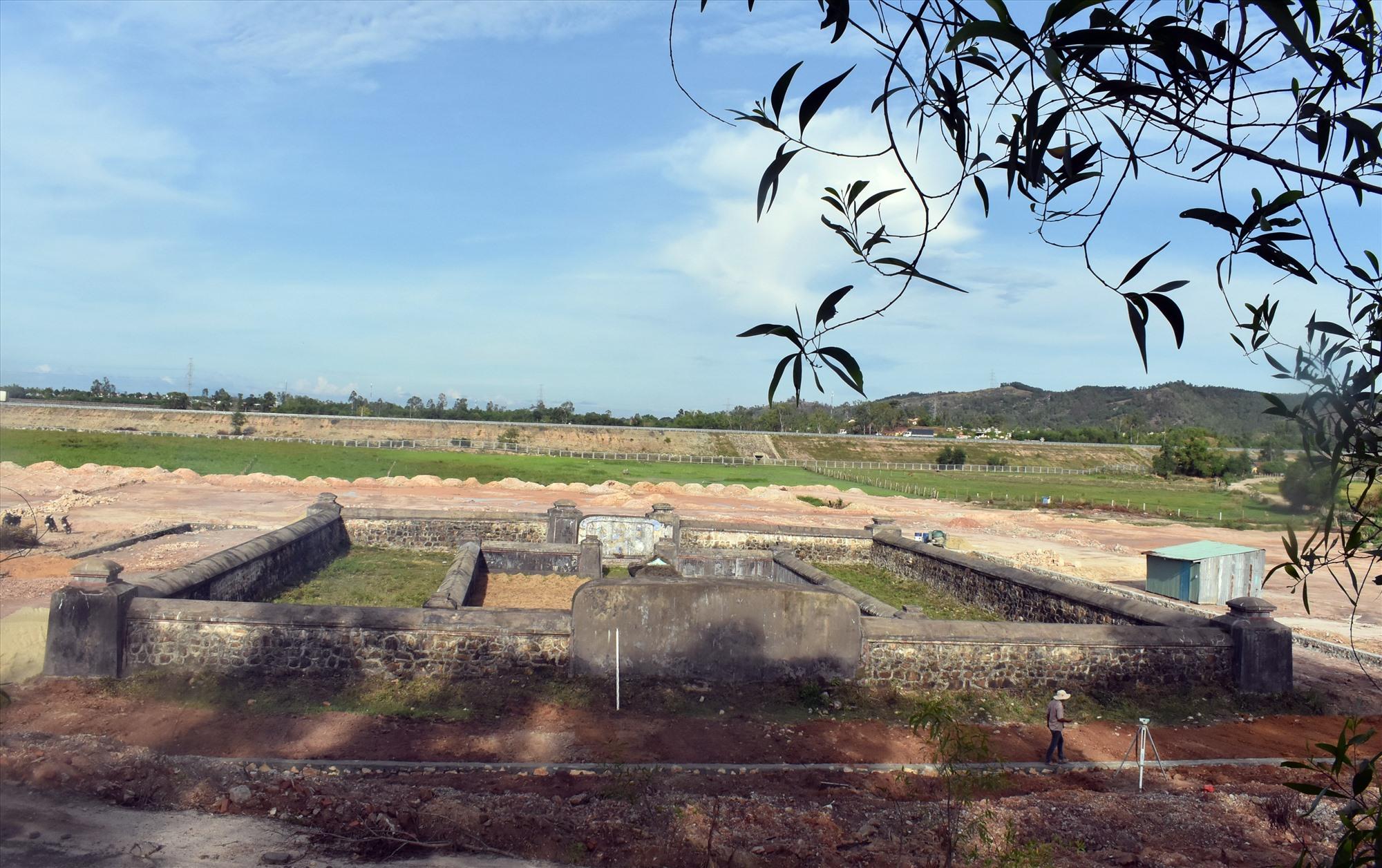Khu di tích Lăng mộ Bà Đoàn Quý Phi sẽ trở thành điểm du lịch của du khách khi đến Mỹ Sơn