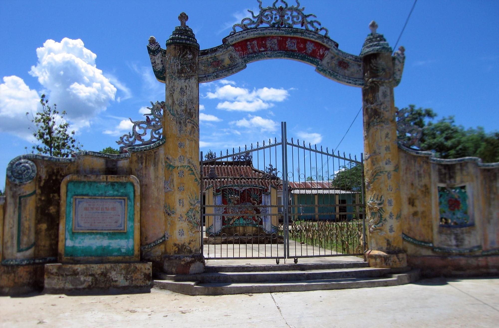 Nhà thờ Ngũ xã Trà Kiệu đang được huyện Duy Xuyên đề xuất tu bổ trong thời gian tới