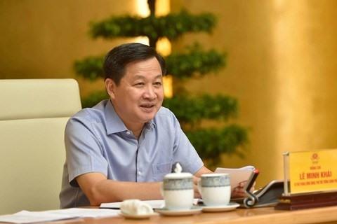 Phó Thủ tướng Lê Minh Khái - Ảnh: VGP