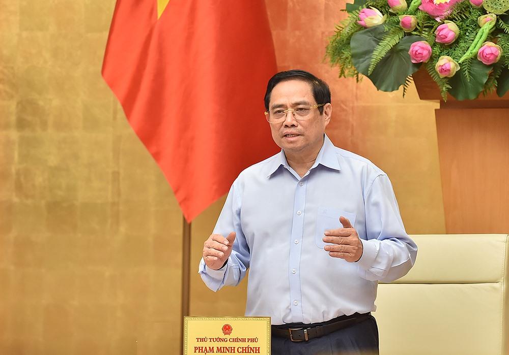 Thủ tướng Chính phủ Phạm Minh Chính - Ảnh: VGP
