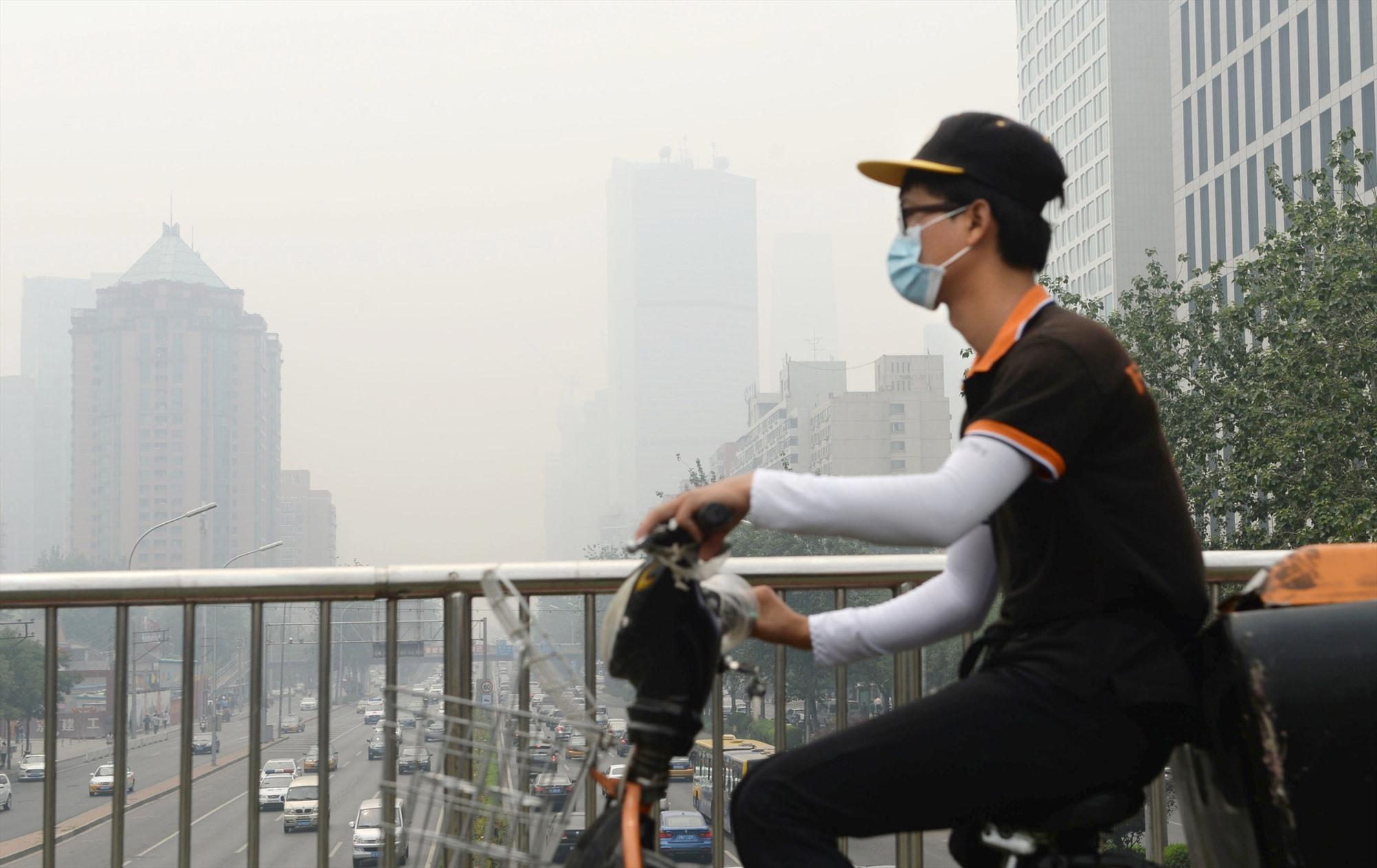 Ô nhiễm môi trường, biến đối khí hậu gây tổn hại đến sức khỏe con người. Ảnh: Gettyimage