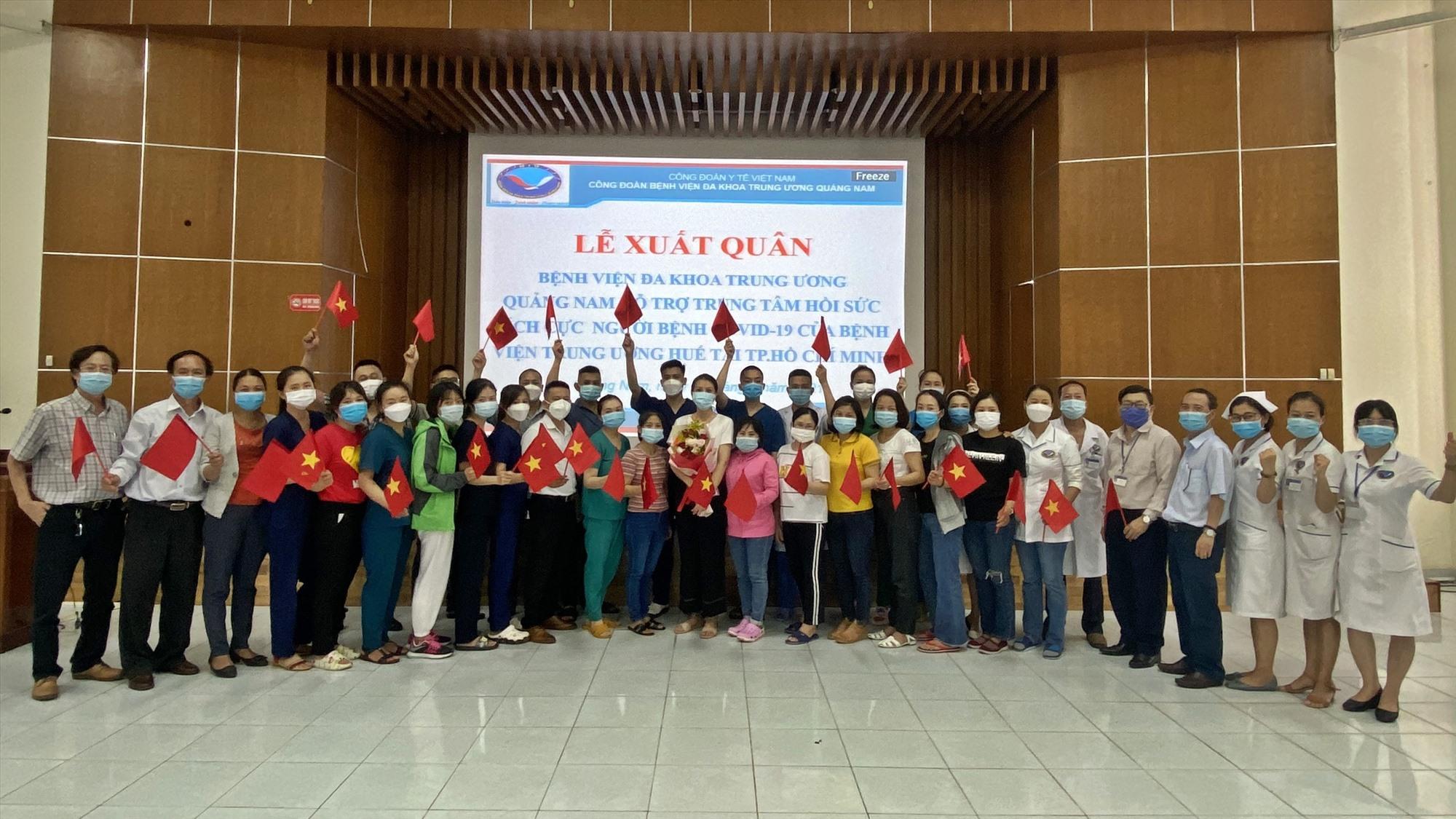 Sẽ có 29 bác sĩ, điều dưỡng hỗ trợ TP.Hồ Chí Minh trong đợt đi thứ 3. Ảnh: H.Đ
