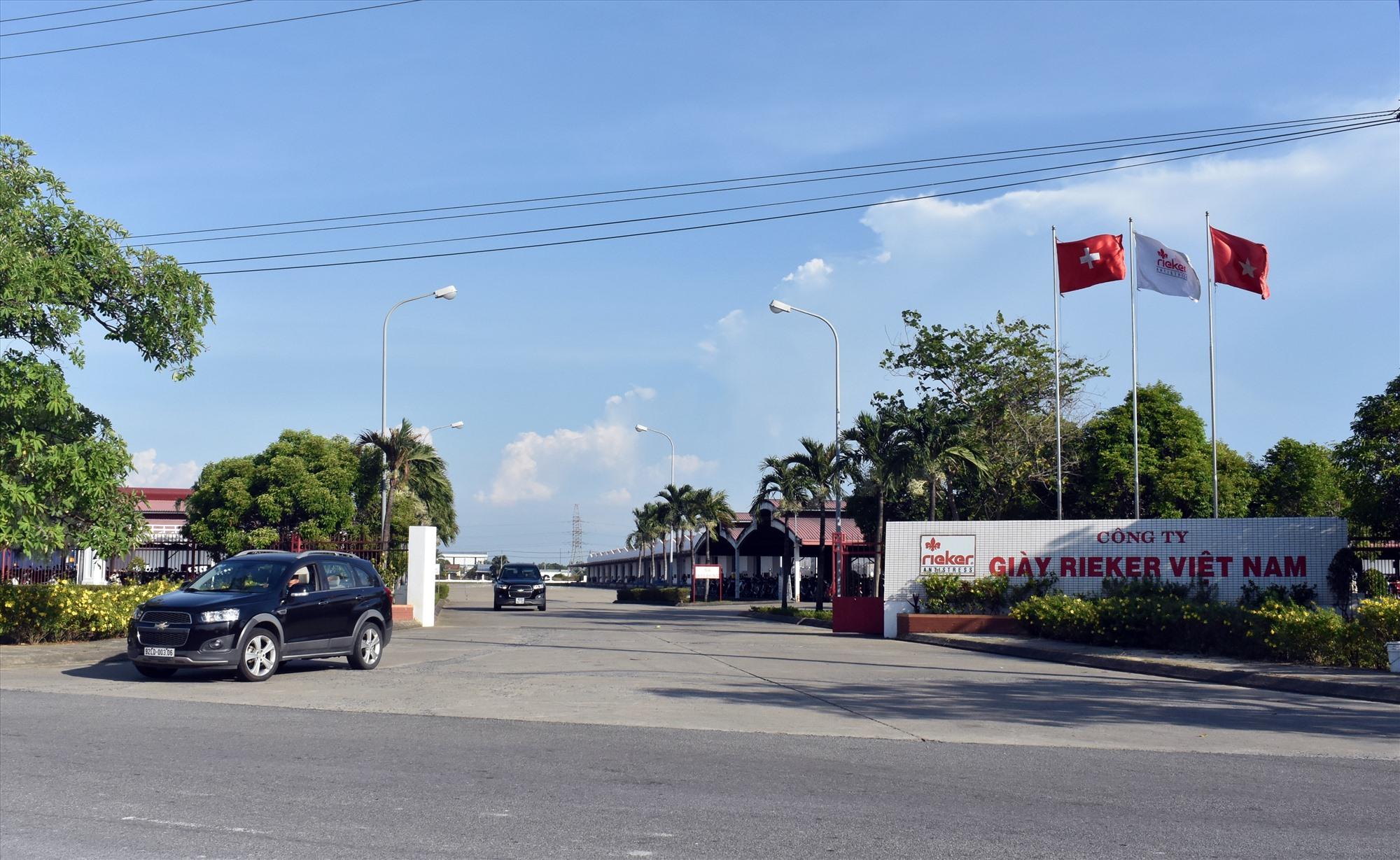 Công ty TNHH Giày Rieker Việt Nam có 174 công nhân phải cách ly tập trung và cách ly ở nhà