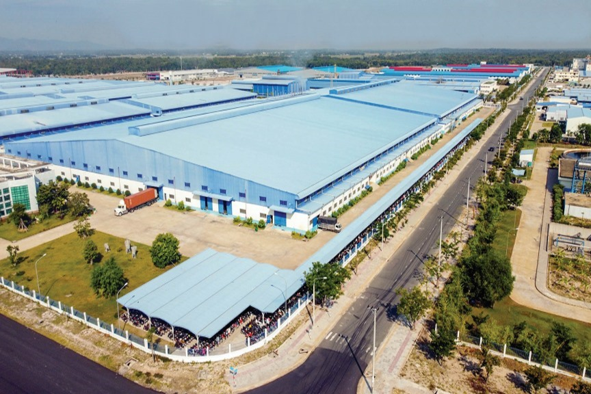 Tam Thang industrial park (Tam Ky city)