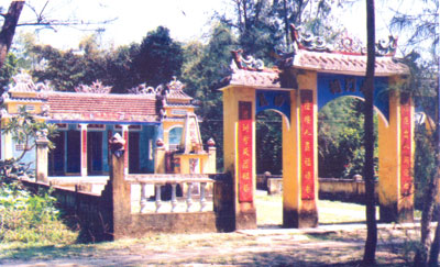 Tiền hiền Hà My, nơi tổ chức Đại hội lần thứ 2 của Đảng bộ xã Điện Dương tháng 4.1952.