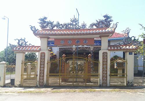 Nhà thờ tộc Nguyễn Văn ở xã Mé Pu huyện Đức Linh, tỉnh Bình Thuận.Ảnh: M.KIỆT