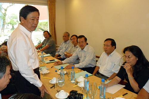 Cuộc họp Ban chấp hành Hội đồng hương Đà Nẵng tại TP.HCM.