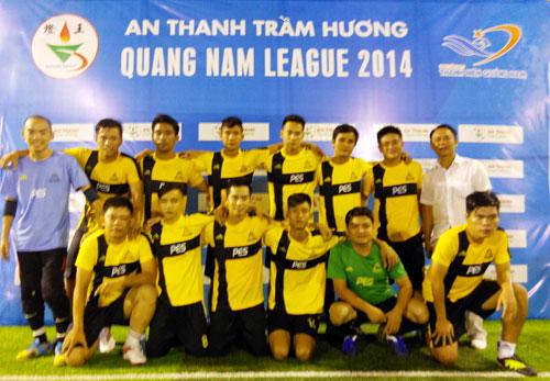 Một trong những đội bóng tham gia thi đấu tại Quang Nam League 2014