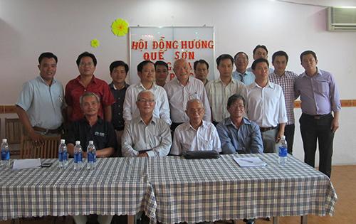 Ngày gặp mặt của những thành viên trong HĐH Quế Sơn.