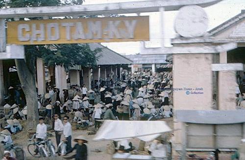 Chợ Cũ (chợ Chiều) Tam Kỳ.