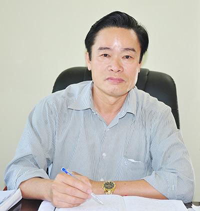 Đồng chí Hà Phước Trinh - Bí thư Huyện ủy Quế Sơn.