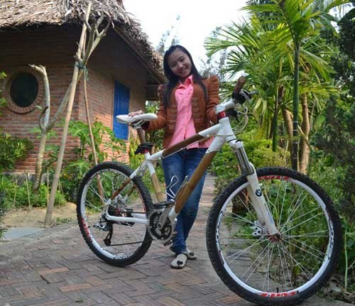 This bicycle can be sold for 25 million VND in oversea markets.