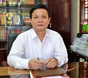 Bí thư Thị ủy Điện Bàn - ông Lê Thân.