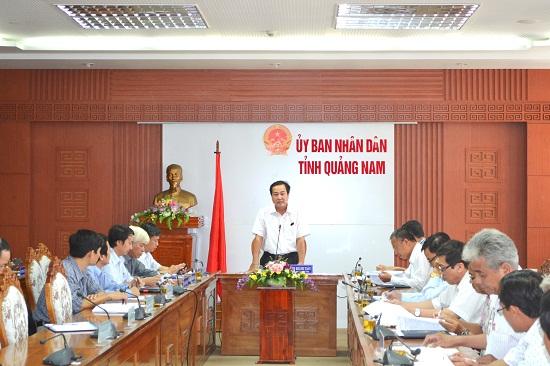 Đồng chí Huỳnh Khánh Toàn đề nghị Phú Ninh xem lại cách làm trong GPMB dự án cao tốc.