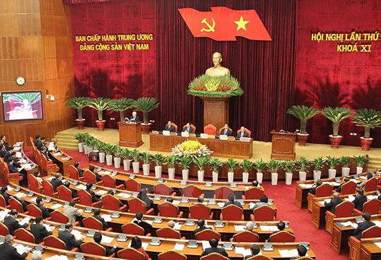 Hội nghị lần thứ 14 Ban Chấp hành Trung ương Đảng (khóa XI) diễn ra từ ngày 11 đến 13.1 tập trung hoàn thiện công tác nhân sự chủ chốt khóa XII. (Ảnh: internet)