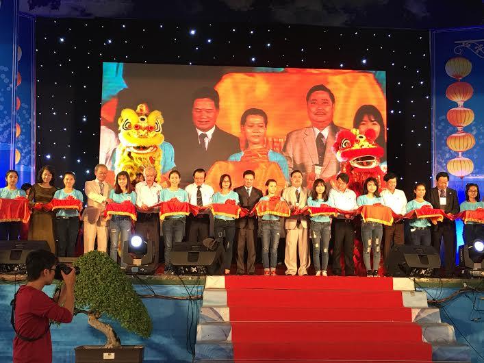 Không gian hội nhập phát triển của ngày hội đồng hương Quảng Nam. Ảnh: CHI MAI
