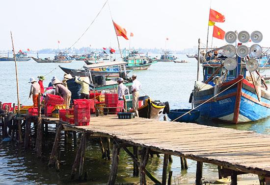 Sản lượng đánh bắt hải sản tăng nhưng giá trị xuất khẩu của mặt hàng này vẫn chưa cao. Ảnh: T.D