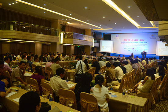 Hội thảo Khoa học và Quản trị kinh doanh lần thứ 5 là cơ hội để các doanh nghiệp trong khu vực miền Trung – Tây Nguyên gặp gỡ, tăng cường liên kết.