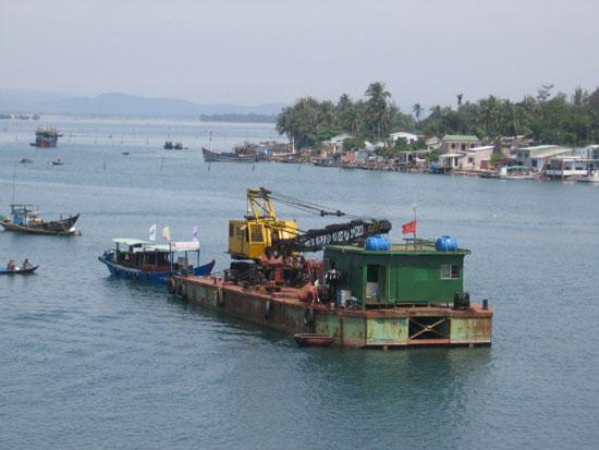 Dự án nạo vét sông Trường Giang chưa thể hoàn ứng, thanh toán, làm sạch số tạm ứng trên sổ sách tại Kho bạc Nhà nước Quảng Nam.