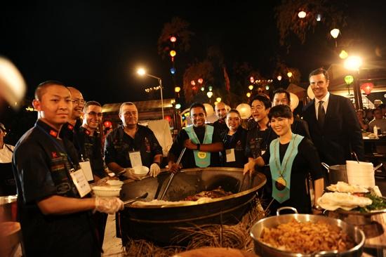 Các đầu bếp rất háo hức khi được tham dự Liên hoan ẩm thực