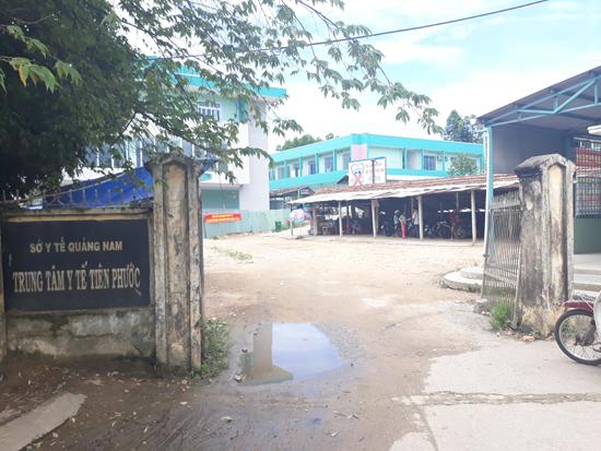 Trung tâm Y tế huyện Tiên Phước. Ảnh: NGUYỄN DƯƠNG