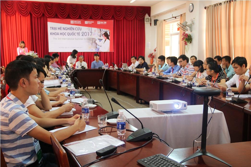 Hơn 50 Thạc sĩ trên mọi miền Tổ quốc tham dự Trại hè Nghiên cứu khoa học Quốc tế lần thứ 3