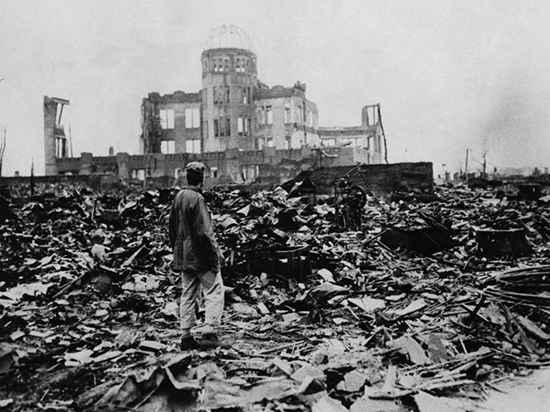 Thảm họa bom nguyên tử năm 1945.                            Nguồn: Internet