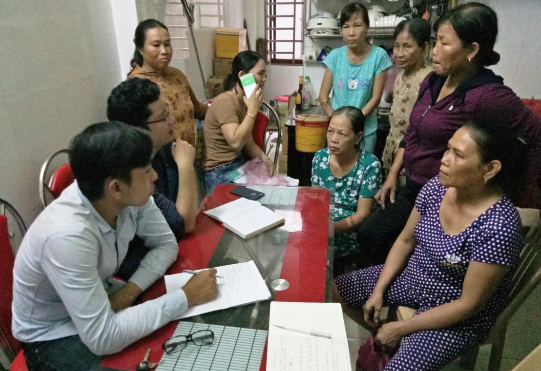 Chú thích ảnh: Người dân xã Quế Trung (huyện Nông Sơn) phản ánh bị mất tiền khi chơi biêu do bà Nguyễn Thị Ph. Làm chủ.