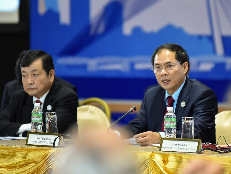 Thứ trưởng Bộ Ngoại giao Bùi Thanh Sơn phát biểu tại ABAC 4