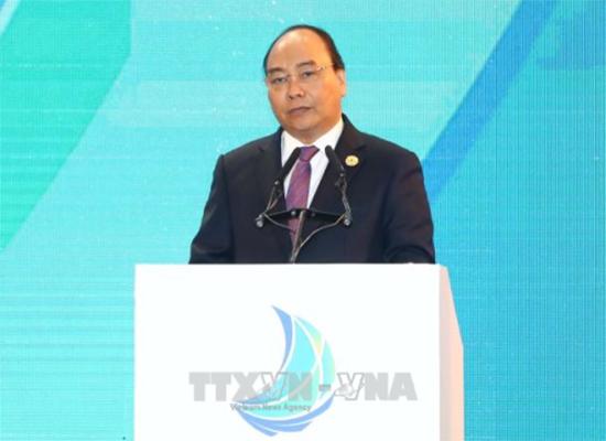 Thủ tướng phát biểu tại hội nghị (ảnh của TTXVN)