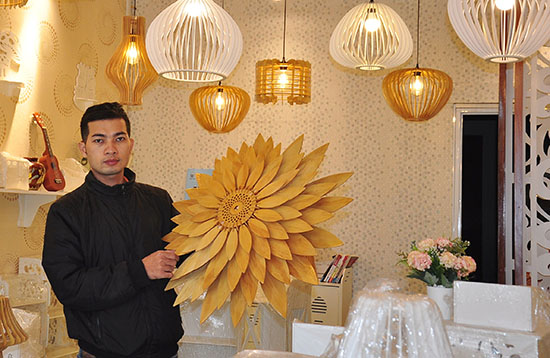 Vo Khac Linh and his products