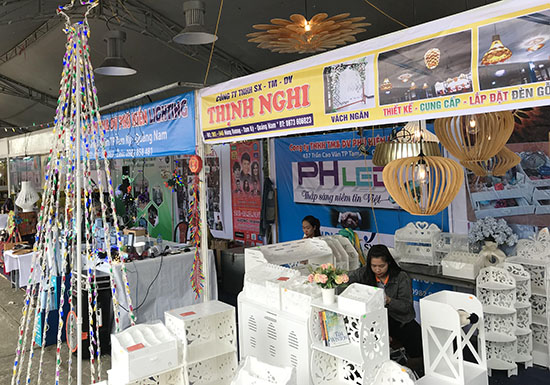 Thinh Nghi's products at Quang Nam Shopping Festival 2017