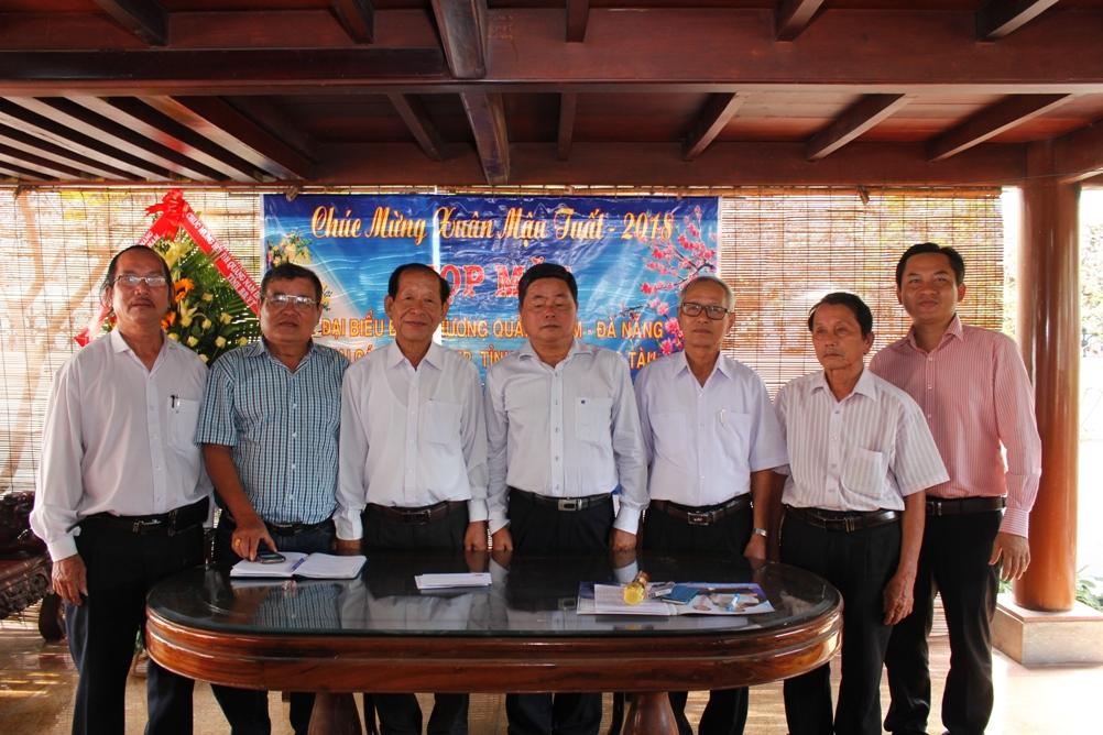 Ban chấp hành Lâm thời Hội đồng hương Quảng Nam – Đà Nẵng tại tỉnh Bà Rịa – Vũng Tàu.